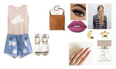 """""""Thursday"""" by isabellasmall on Polyvore featuring Lime Crime, Erica Weiner, Merona and Bella Freud"""