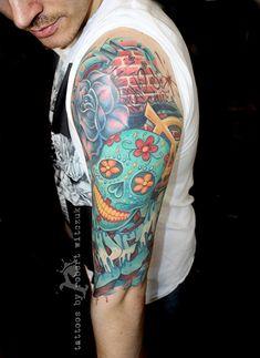 Hippy Graffiti Tattoos by Robert Witczuk