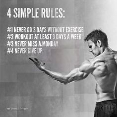4 Simple Rules for a Stronger Body   (c) gainingtactics.com