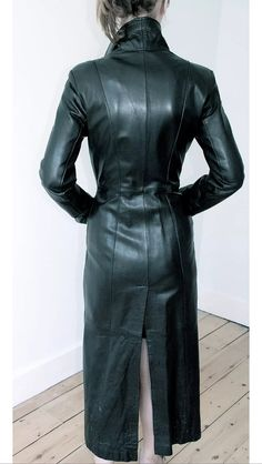 822 Best Long Leather Coat Images In 2019 Leather Black Leather