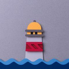 Lighthouse paper cut stop motion. Lighthouse paper cut stop motion. Cut Out Animation, Animation Stop Motion, 3d Paper Art, Paper Crafts, Stop Motion Photography, Performance Artistique, Nintendo Console, Motifs Perler, Motion Video