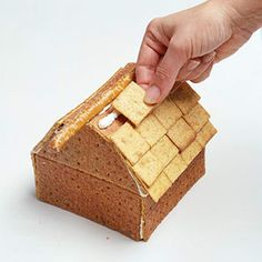 Graham Cracker Barn and Silo: This edible barn and silo recipe is the perfect kid's activity for a rainy day. Just make sure you have graham crackers, pretzels, vanilla frosting, and wheat crackers on hand.