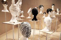katsuya kamo exhibits 100 head pieces