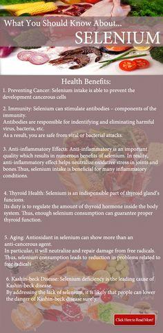 Selenium- Top Best Benefits