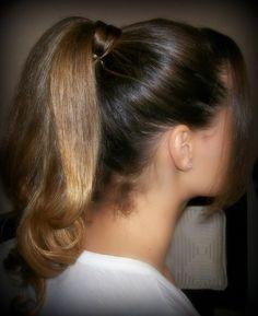 Pretty ponytail