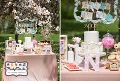 Shabby Chic Sweet as Pie Themed Party