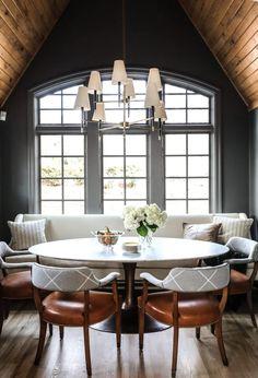 Design Crush: Park and Oak Design - greige design Kitchen Cabinets Decor, Cabinet Decor, Home Decor Kitchen, Studio Kitchen, Kitchen Nook, Open Kitchen, Interior Exterior, Home Interior, Interior Design