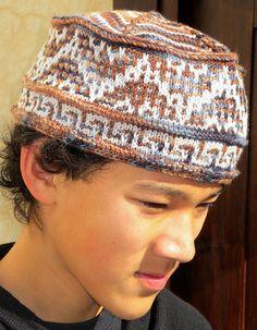 Ravelry: Meknès - a Mosaic Knit Hat pattern by Kiko Knits