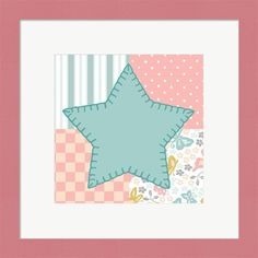Beth Grove 'Baby Quilt IV' Framed Wall Art
