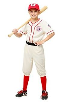 2018 A League Of Their Own Child Jimmy Costume and more Baseball Costumes for Boys, Boy's Halloween Costumes, Sports Costumes for Boys for Baseball Costumes, Baseball Uniforms, Reds Baseball, Boy Halloween Costumes, Boy Costumes, Baby Halloween, Halloween Ideas, Toddler Costumes, Halloween 2017