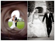 Best Places For Wedding Photos in Newport RI, Salve Regina University, © Snap Weddings