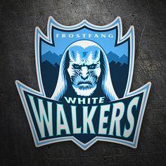 Pegatinas: Juego de Tronos White Walkers #friki #TeleAdhesivo