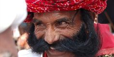 Moustache competitions at Pushkar ka Mela