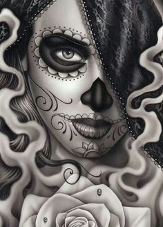 Dia de los muerte, day of the dead, art