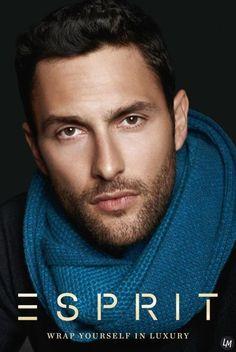 Noah Mills Stars in Esprit's Latest Campaign