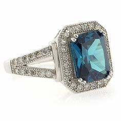 Alexandrite Vintage Style Silver Ring