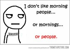 people. . .enough said- It makes me feel a little less crazy to know other people feel like this too..I'd be friends with them..but they're still people..so I don't like them either..