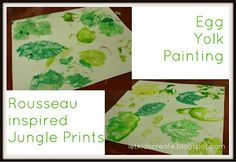 Nature printing without paint