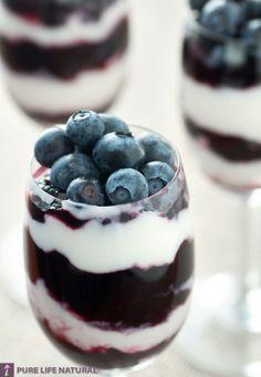 Blueberry dessert | Food Recipes