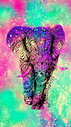Colorful Elephant Background 1000 Ideas About Wallpaper On