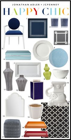 Happy Chic! Jonathan Adler + JCPenney
