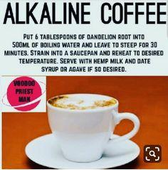 Alkaline Tea, Alkaline Breakfast, Alkaline Diet Plan, Alkaline Diet Recipes, Vegan Foods, Vegan Dishes, Vegan Recipes, Drink Recipes, Vegan Life