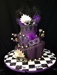 Amazing Cake, I could even make it because despite how it looks it's a simple design. Supplies to make it would cost around $200 vs. having it make would be $600+   Might be cheaper to make if we roll out own fondant, thats a wee bit tedious though.