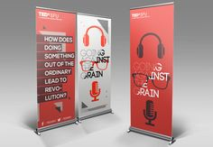 TEDxSFU 2012 - Going Against The Grain by Sophia Yip, via Behance