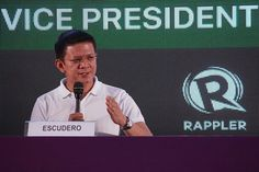 Escudero leads SWS VP poll in 6-way race #RagnarokConnection