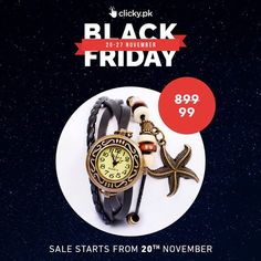 Only 4 days left! Black Friday Sale. Up to 80% Off. 20-27 November.Stay Tuned For More Details. #BlackFridaySale #BlackFriday2017 #Sale#ClickyOnlineShopping Explore Now-->http://bit.ly/2y3fpGe #Home #Garden #Toys #Sports #Fishing #Hunting #Tools #Lenses #Chargers #USB #Drives #Wristbands #Phones #Computers#Electronics #Fashion #Beauty #Health #Wristbands