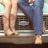 its a country thing <3.....Cutest country couple Picture EVER!!!!!!!!!
