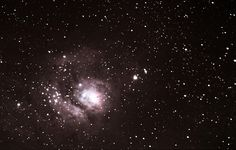 Lagoon Nebula M8 taken in Cathedral City CA