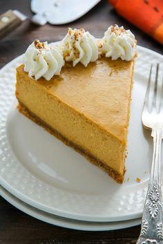 Classic Pumpkin Pie Cheesecake
