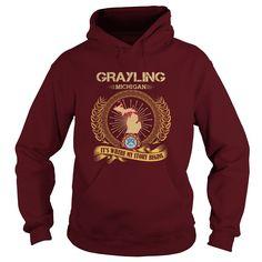 Grayling-michigan - Tshirt