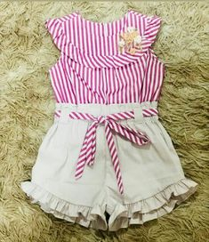 Dress For Girl Child, Baby Girl Dresses, Toddler Dress, Baby Dress, Little Girl Outfits, Little Dresses, Kids Outfits, Plain Kurti Designs, Toddler Fashion