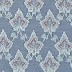 Pattern #:15625-563 Pattern Name: BRENNER, LAPIS Book #2935 - Prussian, Spruce: Tilton Fenwick Collection