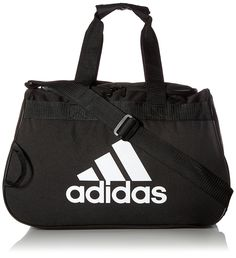 adidas Diablo Small Duffle Bag Duffle bag featuring logo screen print, webbing carry handles, and top-loading main compartment Adjustable shoulder strap Mens Gym Bag, Under Armour Sweatshirts, Gold Adidas, Camo Purse, Best Gym, Herschel, Partner, Small Bags, Bag Sale