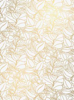 Garden Wall wallpaper in Vellum from Lake August White And Gold Wallpaper, Golden Wallpaper, Wall Wallpaper, Pattern Wallpaper, Wallpaper Backgrounds, Iphone Wallpaper, Wallpapers, August Wallpaper, Gold Pattern