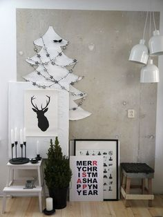 Black and white christmas decorations White Christmas, Noel Christmas, Modern Christmas, Scandinavian Christmas, Christmas Crafts, Scandinavian Design, Christmas Flatlay, Vienna Christmas, Minimal Christmas