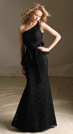 Mori Lee 68100 One Shoulder Lace Bridesmaid Gown e0101d8c2bf5