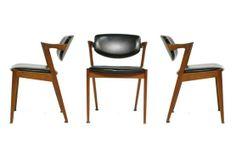 Kai Kristiansen Modern Dining Chairs   Via: The Good Mod - Portland, OR