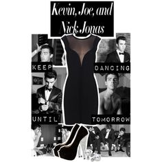 Keep Dancing Until Tomorrow! Jonas Brothers, created by chey-love on Polyvore