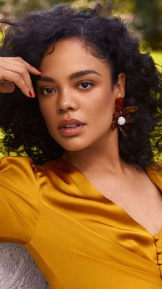Tessa Thompson HD Mobile, Smartphone and PC, Desktop, Laptop wallpaper resolutions. Tessa Thompson, Pretty People, Beautiful People, Meagan Good, Young Female, 4k Hd, African American Women, Mellow Yellow, Beautiful Black Women