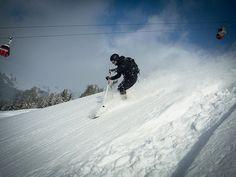 Powder #Gastein #Austria Austria, Mount Everest, Skiing, Powder, Mountains, Nature, Travel, Ski, Naturaleza