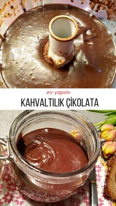 Home-made Nutella (no difference from original) How is the recipe made? Authors: Sevgi Yaman Homemade to Home-made Nutella (no difference from original) How Pear Recipes, Cake Recipes, Glace Fruit, Homemade Nutella Recipes, Turkish Breakfast, Nutella Cake, Good Food, Yummy Food, Delicious Recipes
