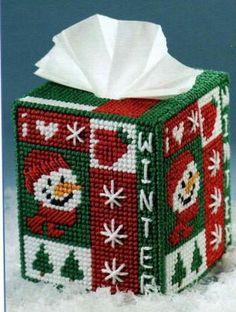 Outhouse 1 6 plastic canvas pinterest plastic canvas for Snowman pocket tissues