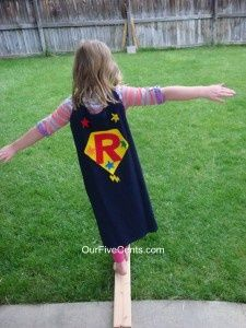 Super Hero Birthday Party with activities, crafts, and food ideas