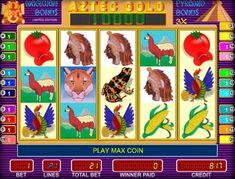 Игровой автомат Aztec Gold в казино Вулкан Разработчик игрового автомата Aztec Gold, представила гемблерам интересный сюжет игры на реальные деньги, где каждый может найти золото ацтеков – индейцев из центральной части Мексики. Кроме существенных выплат в казино Вулка