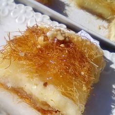 Greek Sweets, Greek Desserts, Kinds Of Desserts, Greek Recipes, Cookbook Recipes, Dessert Recipes, Cooking Recipes, Non Chocolate Desserts, Cake Cookies