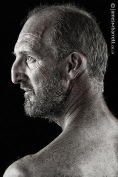 Edward Leece in profile by james m barrett, via Flickr